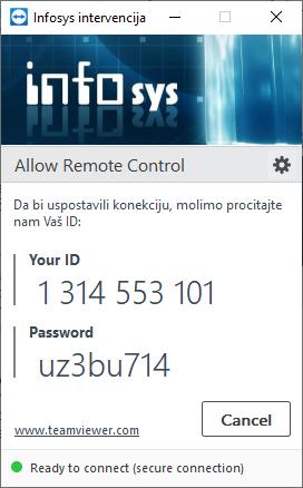Infosys - TeamViewer