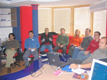 Infosys - Sa radnog sastanka